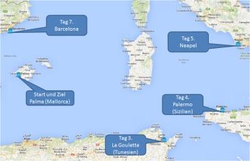 mein-kreuzfahrtwetter-aida-route-palma-lagoulette-palermo-neapel-barcelona-palma-mini