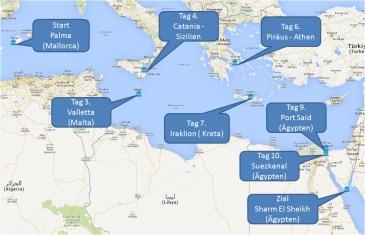 mein-kreuzfahrtwetter-aida-route-palma-valleta-catania-athen-iraklio-portsaid-suezkanal-sharmelsheikh-mini