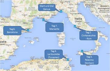 mein-kreuzfahrtwetter-msc-route-genua-civitavecchia-palermo-lagoulette-barcelona-marseille-genua-mini